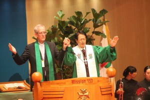 Final Benediction at PCK Assembly