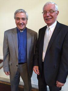 Revd Dave Herbert and Revd Peter Rand