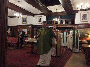 Revd Torbjørn Holt followed by Rt Revd Christopher Chessun