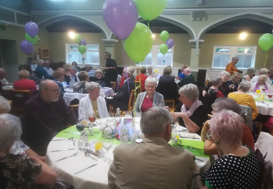 candlelit supper with Rutherglen URC