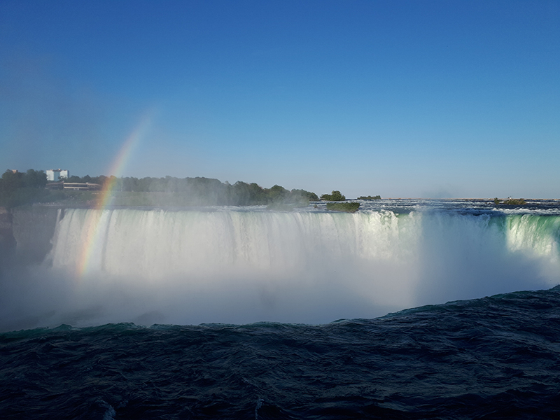 Niagara Falls, early evening