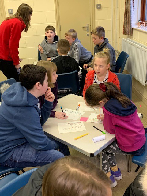 Pictured: Young people participate in the Youth Eco-Day held at Elswick United Reformed Church, Lancashire, in January